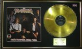 POGUES - LP  Gold Disc & Cover - RED ROSES FOR ME